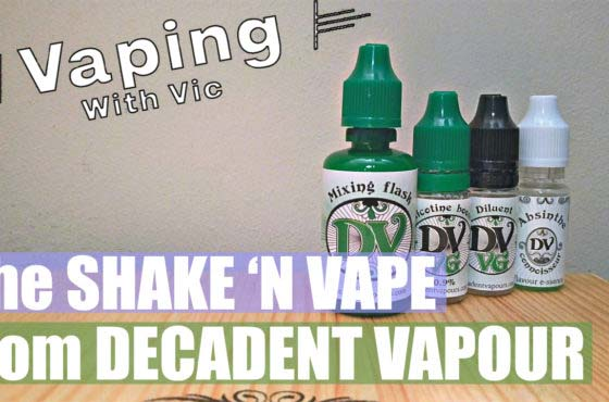 Shake and Vape from Decadent Vapours