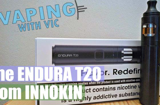 Innokin Endura T20 – The Endura for out and about stuff