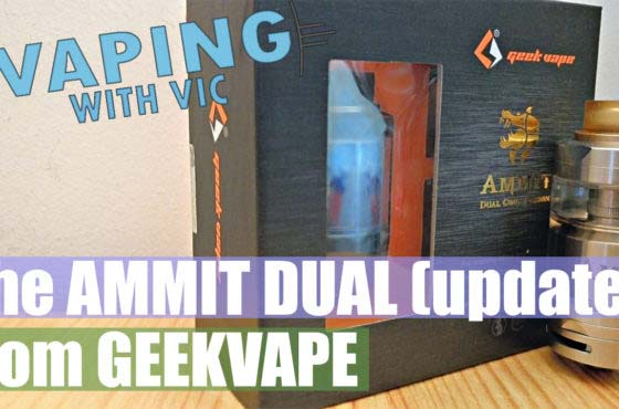 GeekVape Ammit Dual (updated) Review