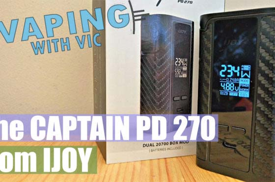 iJoy Captain PD 270 – Dual cell 20700 mod