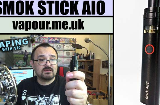 SMOK Stick AIO Review – A little lung hit AIO kit