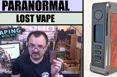Lost Vape Paranormal – Dual 18650 parallel DNA 75C