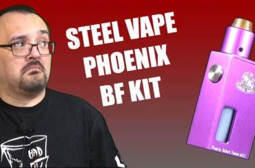 Steel Vape Phoenix BF Kit Review – A simple mech squonking kit