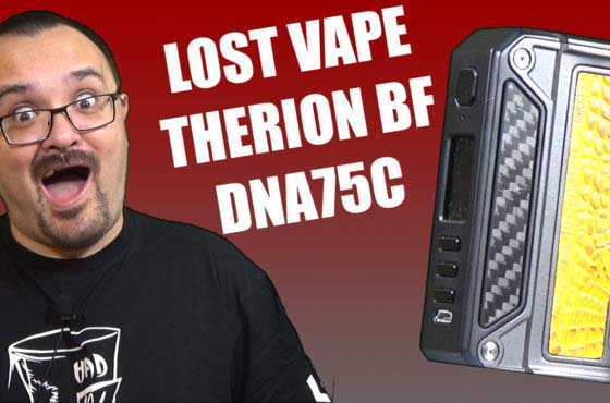 Lost Vape Therion BF DNA75C Review – The overhauled Therion BF with the 75C