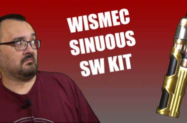Wismec Sinuous SW Kit Review – A smaller kit from Wismec, with added bling