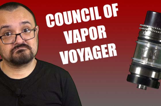 Council of Vapor Voyager Review –  A TPD compliant tank from CoV