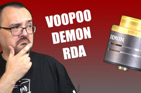 VooPoo Demon RDA Review – VooPoo's first atty