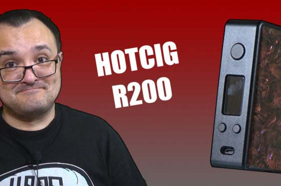 HotCig R200 Review – HotCig go down the full regulated path