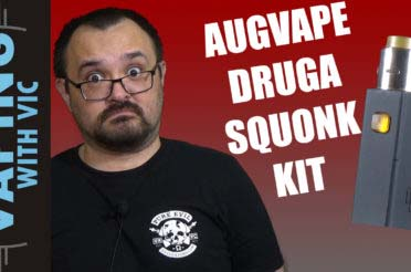 AugVape Druga Squonk Kit Review – Augvape steps into the fray