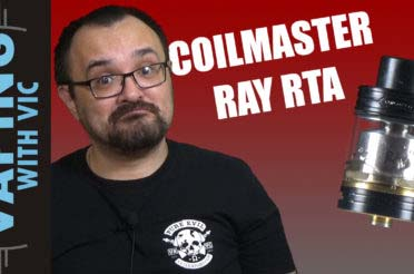 Coil Master RAY RTA Review – A decent budget tank?