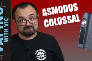 Asmodus Colossal 80w Review – …odd name for the size of the mod…