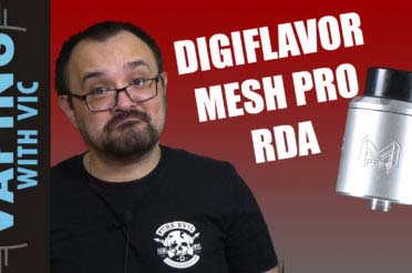 Digiflavor Mesh Pro RDA Review – Digi's shot across the bow of Vandy