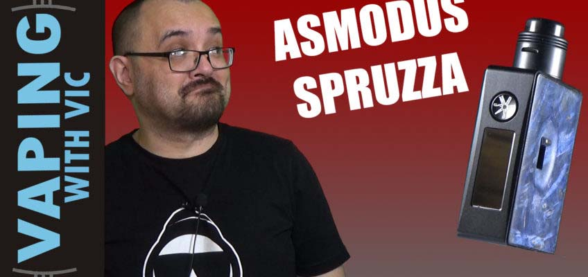 Asmodus Spruzza Kit Review – Pump action squonking