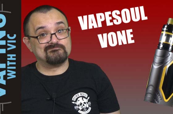 Vone by VapeSoul Review – Big friendly button…