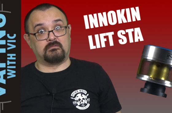 Innokin Lift STA Review – Turn a squonk RDA into an RDTA?