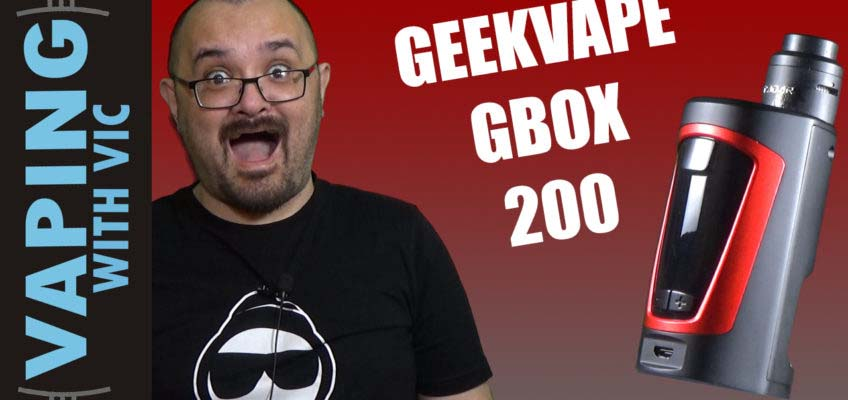 GeekVape GBox 200 Squonk Kit Review – A new DUAL battery option for squonking