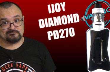 iJoy Diamond PD 270 Review – The Captain…in a diamond…