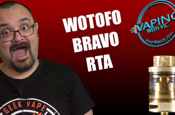 Wotofo Bravo RTA Review – Wotofo are back in the running