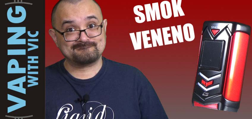 SMOK Veneno Kit Review – SMOK's latest mod