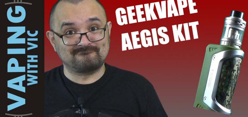 Geek Vape Aegis Kit Review – Or the Geek Vape Shielded in the US…