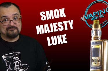 SMOK Majesty Luxe Kit Review – The Majesty, with added bling…