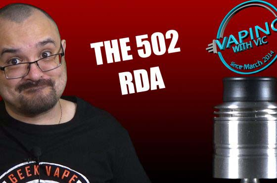 502 RDA by Jai Haze/Ravens Moon Review – Having fun with vertical coiling…