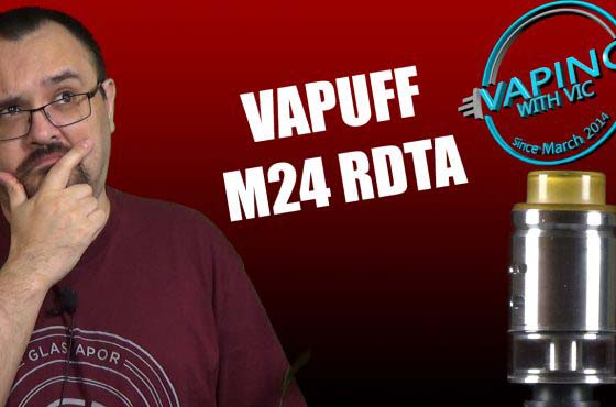 VaPuff M24 RDTA Review – Clampy post is clampy…