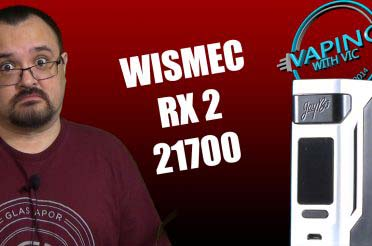 Wismec RX2 21700 Review – Its the RX2 27000 after a few pies…
