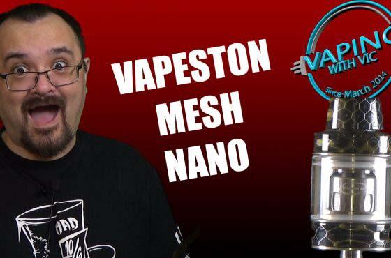 Vapeston Avatar Mesh Tank Nano Review – Vapestons new tank is meshy