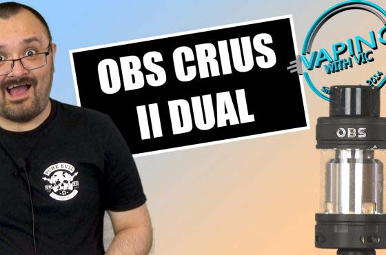 OBS Crius 2 Dual Coil Review – The Crius II…upgraded…