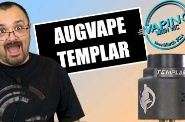 AugVape Templar RDA Review – A new take, on an old post system
