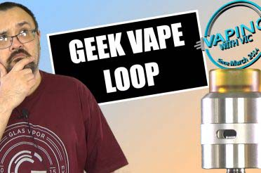 Geek Vape Loop RDA Review – …very weird deck, but it works…