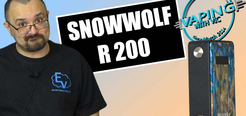 Snowwolf R 200 Review – The older Snowwolf 200… with resin!