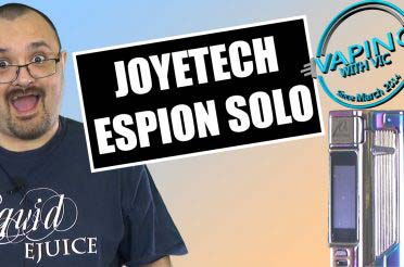 Joyetech Espion Solo Review – The 10th anniversary edition…