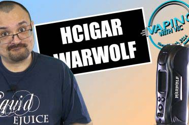 HCigar Warwolf Review – A rugged single 18650 mod