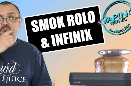 Smok Rolo and Smok Infinix Review – Smok does ALL THE PODS!