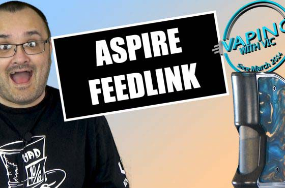 Aspire Feedlink Revvo Squonk Review – Aspire step into the squonk market