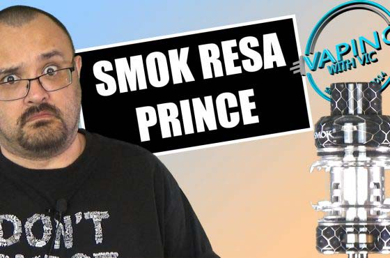 SMOK Resa Prince Tank Review – …this is the tank line that never ends, and it goes…