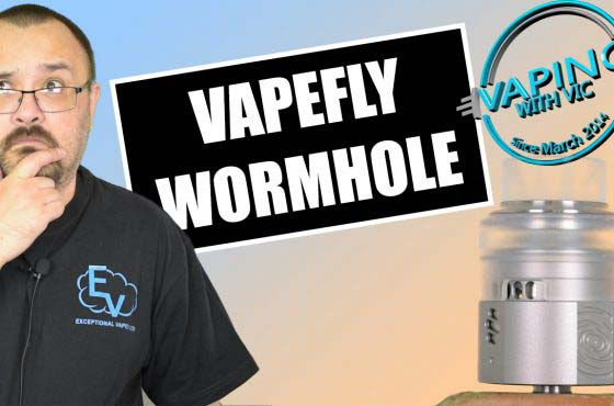 Vapefly Wormhole RDA Review – …all those airflow options…