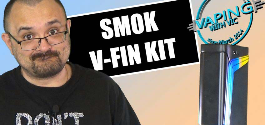 SMOK V-Fin Kit Review – Its one for internal battery vapers…