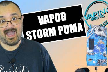 Vapor Storm Puma Review – …if it was any lighter it would float off…
