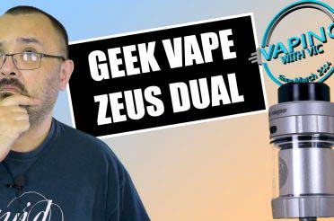 Geek Vape Zeus Dual Review – Not as finicky as the original one…