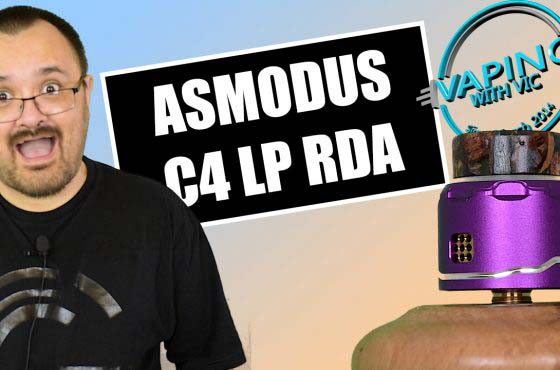 Asmodus C4 RDA Review – It's a small one…
