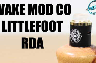Wake Mod Co Littlefoot RDA Review – BIG postholes…