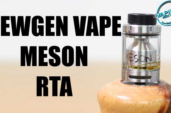 NewGen Vape Meson RTA Review – …it's all down to the price…