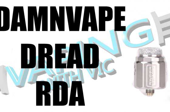 DamnVape Dread RDA Review – The stovetop makes a return…