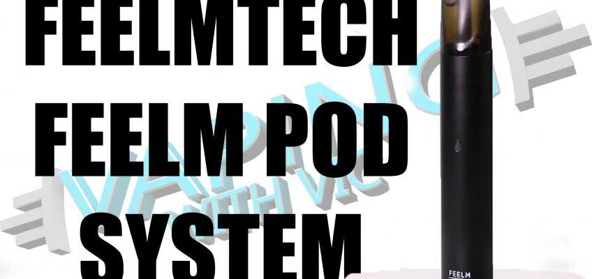 Feelm by FeelmTech Pod System Review – A pod…with an interesting coil design