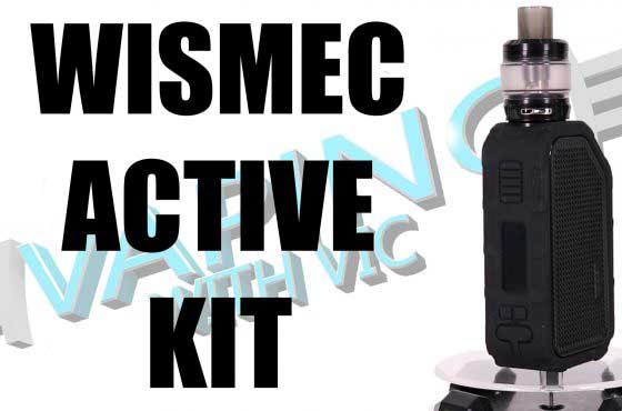 Wismec Active Kit Review – Its got a speaker…