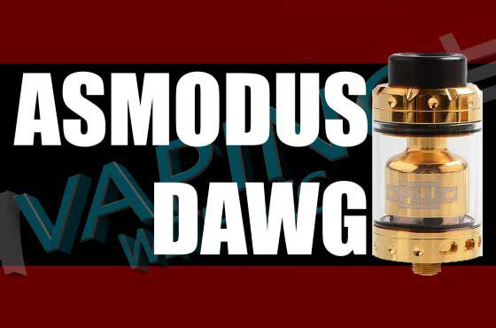 Asmodus Dawg RTA Review – By Alex of VapersMD