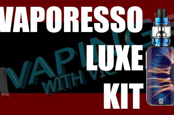 Vaporesso Luxe and Skrr Tank Review – Vaporesso's mic drop kit…